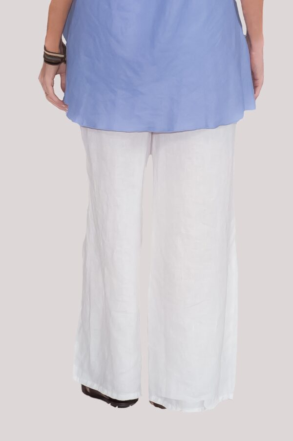 Ann Pant Back- White