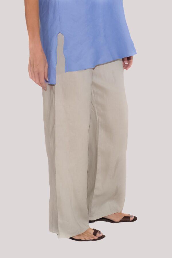 Ann Pant Side- Khaki
