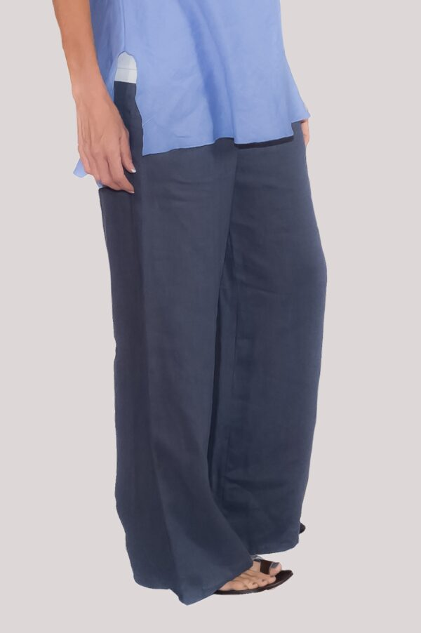 Ann Pant Side-Navy