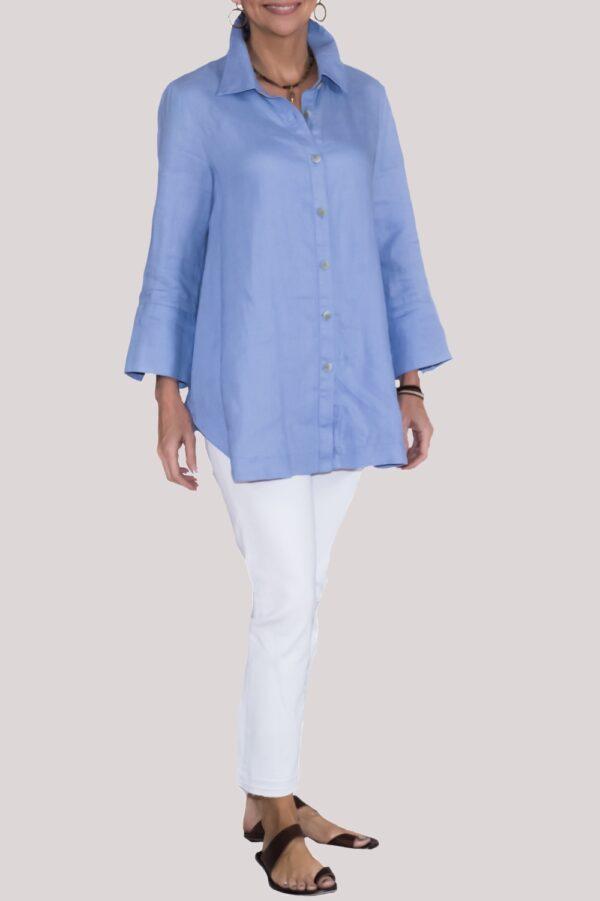 Logan Shirt Full-Blue