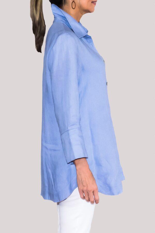 Logan Shirt Side-Blue