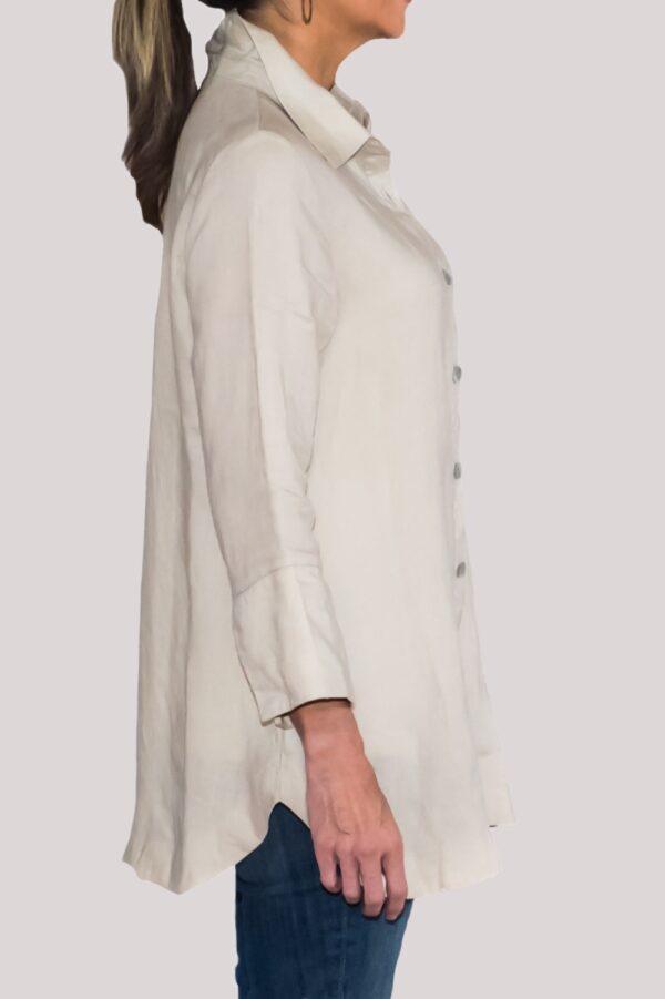 Logan Shirt Side-Khaki