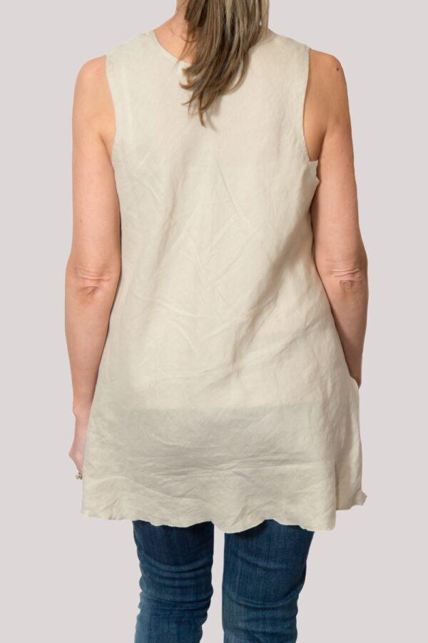 Megan Shirt Back- Khaki