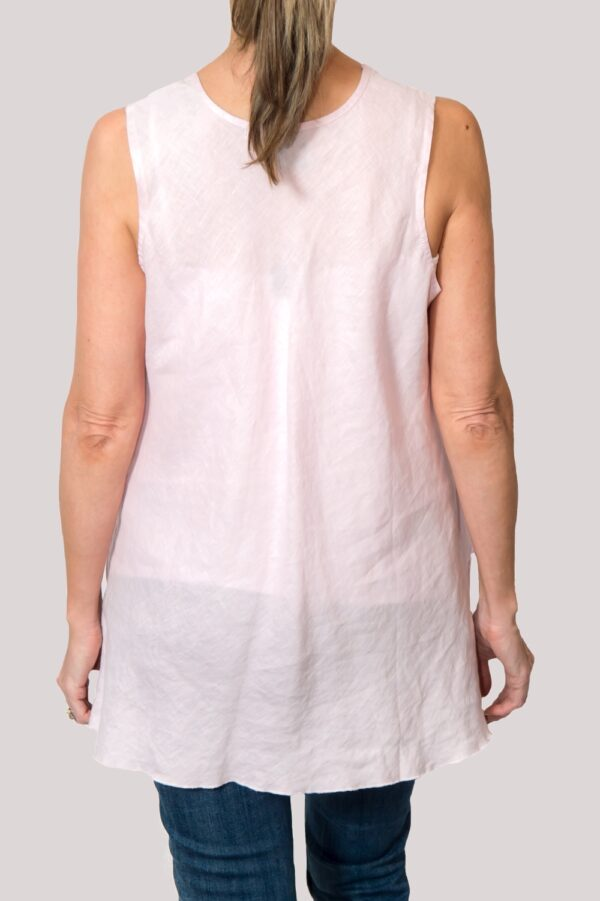Megan Shirt Back- Rose