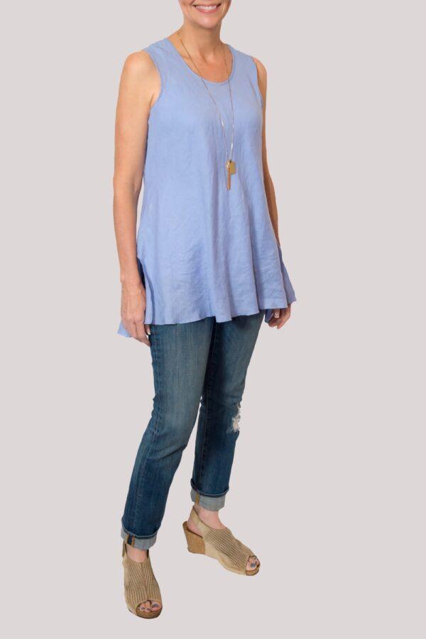 Megan Shirt Full- Blue
