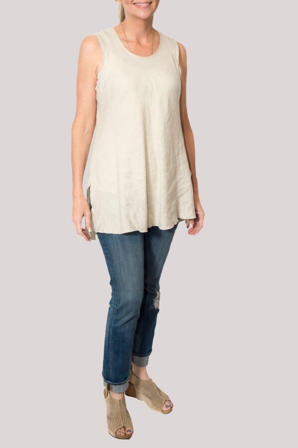 Megan Shirt Full- Khaki