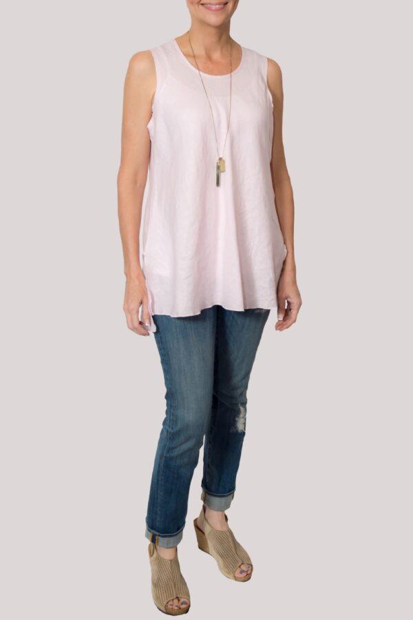 Megan Shirt Full- Rose