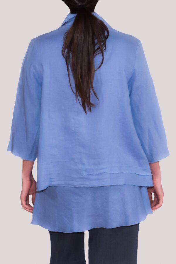 Olivia Shirt Back- Blue