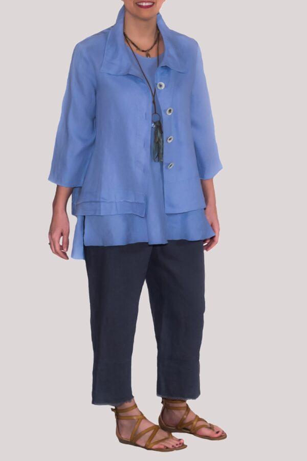 Olivia Shirt Full- Blue