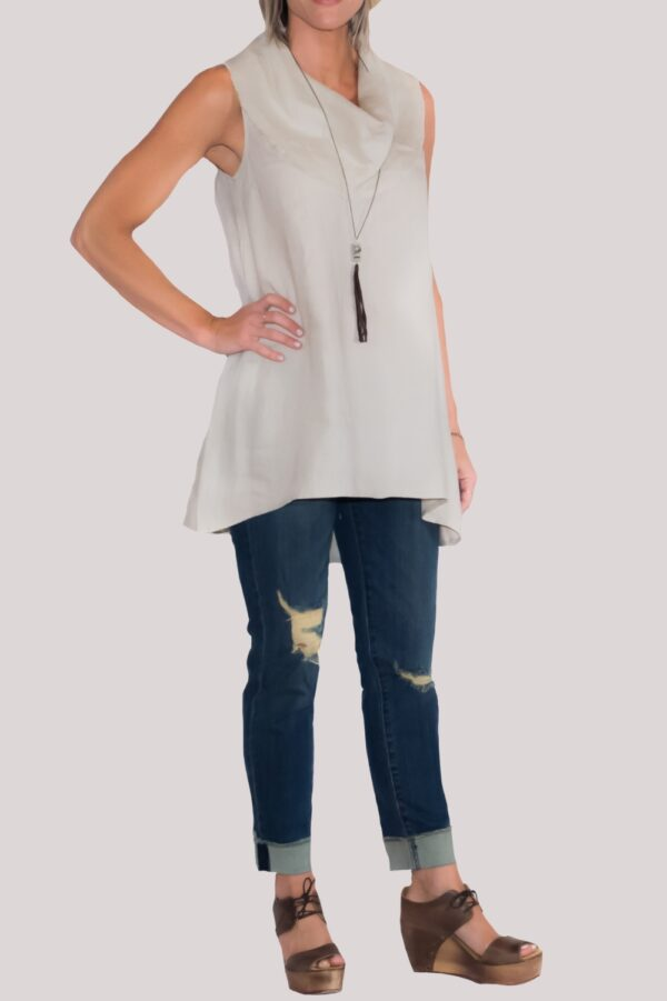 Paige Shirt Full-Khaki